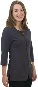 Excel 4Way Stretch Lab Jacket - Side