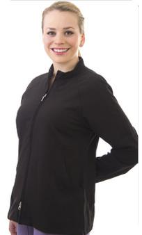 Excel 4-Way Stretch Zip Jacket - Front