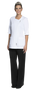 Joanne Martin Short Tunic / Zipper On The Side white