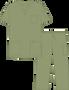Mobb Unisex 8 Pocket Drawstring/Elastic Scrub Set