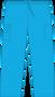 Mobb Unisex Drawstring/Elastic Scrub Pants light blue