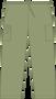 Mobb Unisex Drawstring/Elastic Scrub Pants lime