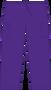 Mobb Unisex Drawstring/Elastic Scrub Pants purple