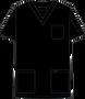 Mobb V-NECK UNISEX SCRUB TOP black