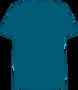 Mobb V-NECK UNISEX SCRUB TOP blue green