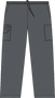 Mobb Tall Drawstring/Elastic Scrub Pants Dark Gray