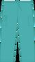 Mobb Tall Drawstring/Elastic Scrub Pants Turquoise