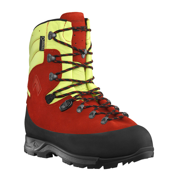 Haix - Protector Forest 2.1 GTX - Chainsaw Boots  (Red &Yellow)