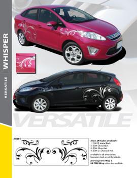 WHISPER : Universal Style Vinyl Graphics Kit
