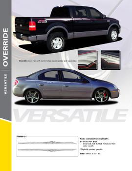 OVERRIDE : Universal Style Vinyl Graphics Kit