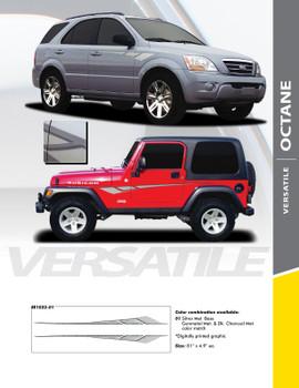 OCTANE : Universal Style Vinyl Graphics Kit