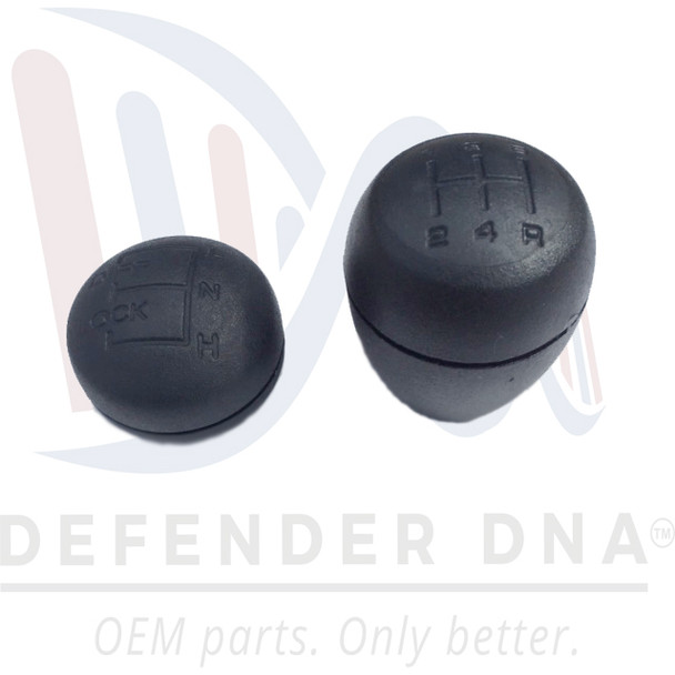 UPGRADED Non-Slip/Heat Retaining Defender 90/110 Shift Knob KIT R380 (OEM)