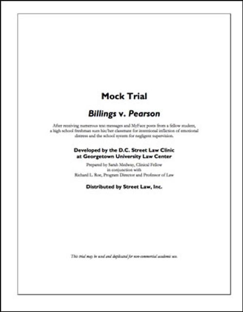 Billings v. Pearson & The Metro City School District