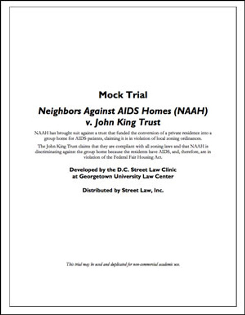 Neighbors Against AIDS Homes (NAAH) v. John King Trust
