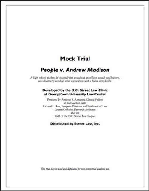 People v. Andrew Madison