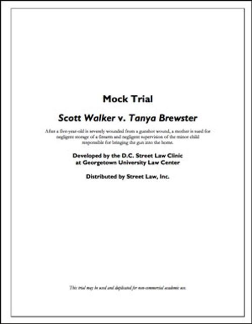 Scott Walker v. Tanya Brewster