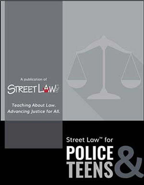 Street Law for Police & Teens Lesson Library (print version)