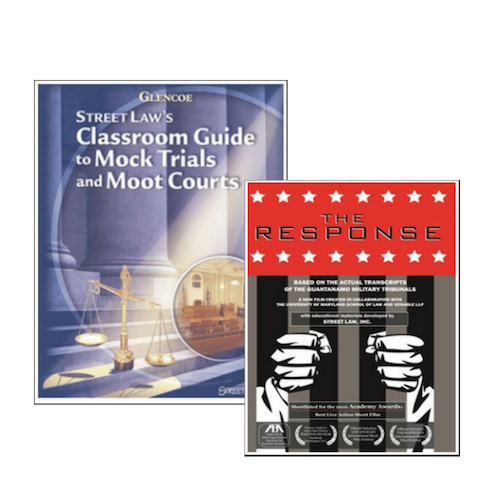 Bundle and Save! Get The Response plus our best seller Classroom Guide to Mock Trials and Moot Courts