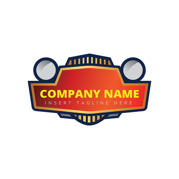 A car front head lamp on a white color background