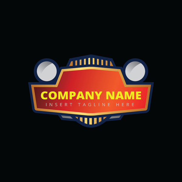 A car front head lamp on a black color background