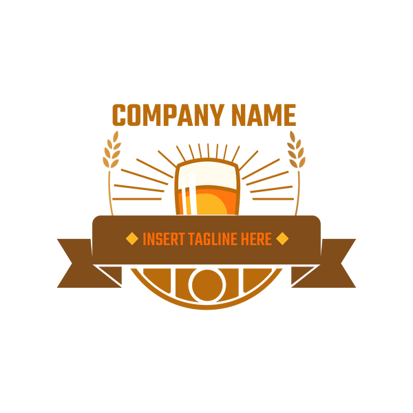 Beer Icon on white background