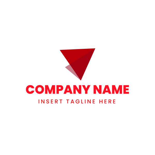 Paper airplane iconic logo on white background
