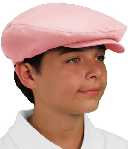 Golf Cap - 'Par 3' Youth Pink Microfiber