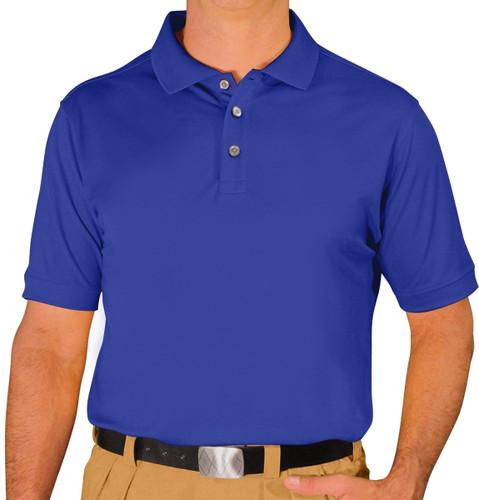 Mens Pro-Dry Golf Shirt - Royal