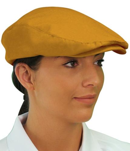 Golf Cap - 'Par 3' Ladies Gold Microfiber