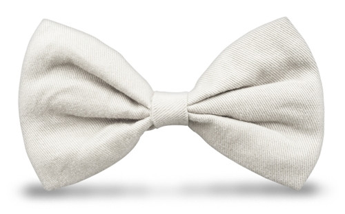 Bow Ties - White