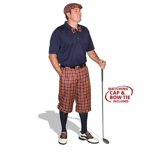 Mens Admiral & Navy Golf Outfit