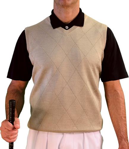 Mens Solid Sweater Vests
