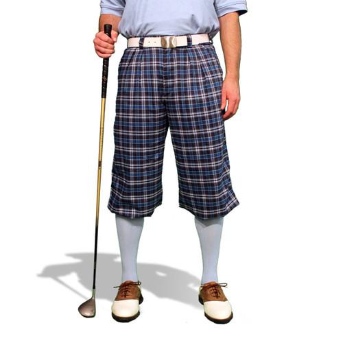 Plaid Golf Knickers - 'Par 5' Mens Eaglesham