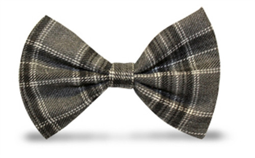 'Par 5' Plaid 'Limited' Bow Tie - St. John