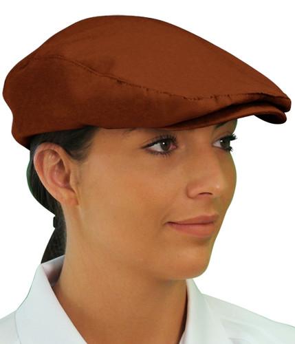 Golf Cap - 'Par 3' Ladies Brown Microfiber