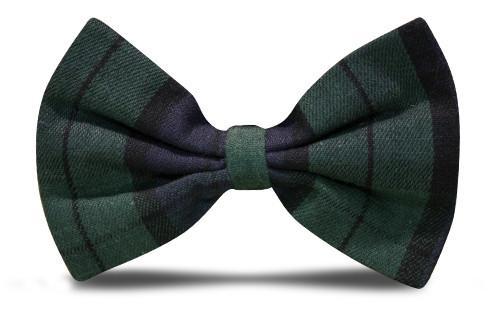 Plaid Bow Tie - 'Par 5' Black Watch