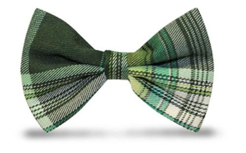 'Par 5' Plaid 'Limited' Bow Tie - Monterey