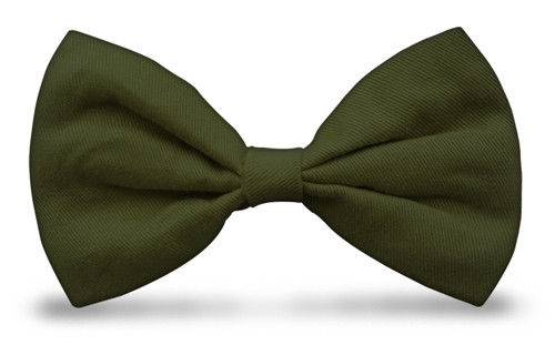 Bow Ties - Olive