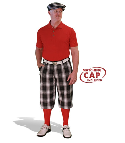 Mens Yorkshire & Red Golf Outfit