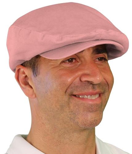 Golf Cap - 'Par 4' Mens Pink Cotton/Ramie