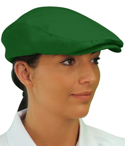 Golf Cap - 'Par 3' Ladies Dark Green Microfiber