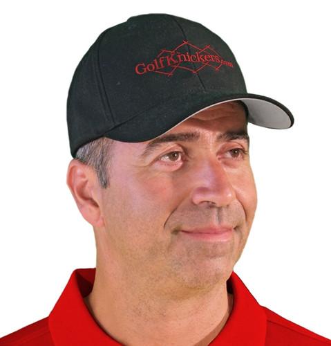 Ball Cap - 'Active Series' Mens Red