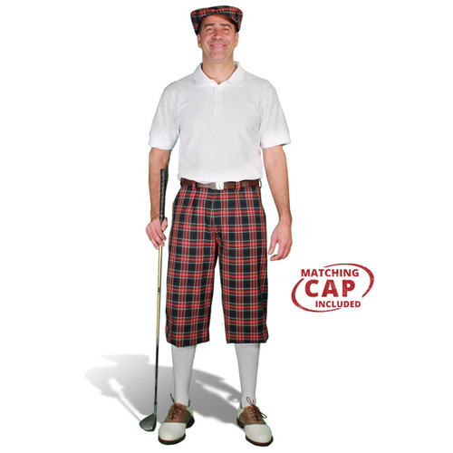 Golf Outfit - Mens Navy Stewart & White