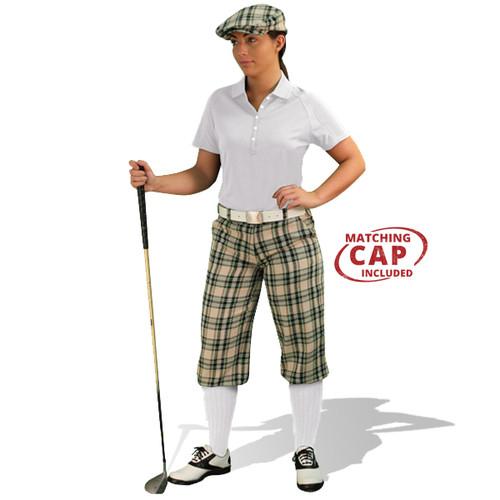 Golf Outfit Women - Khaki Stewart & White
