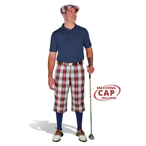 Golf Outfit - Mens Dress Stewart & Navy