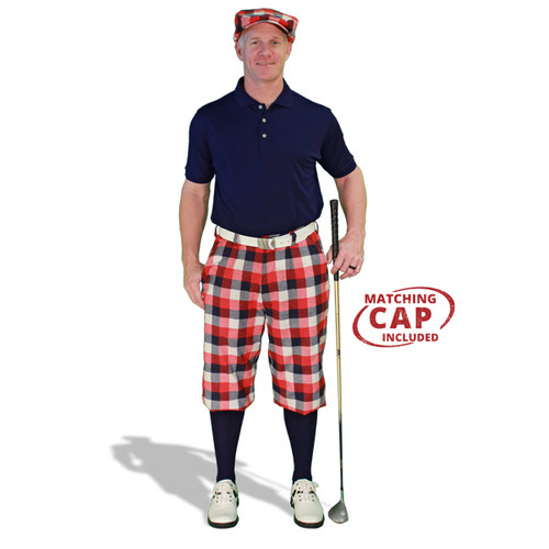 Mens Forfar & Navy Golf Outfit