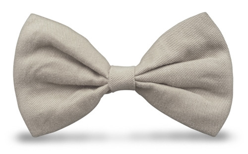 Bow Ties - Taupe