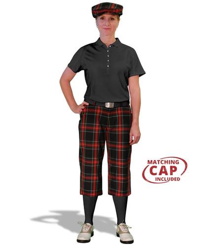 Golf Outfit Women - Black Stewart & Black