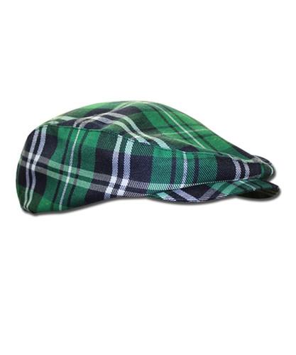 Plaid Golf Cap - 'Par 5' Mens Limited Celtic