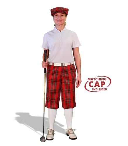 Golf Outfit Women - Royal Stewart & White